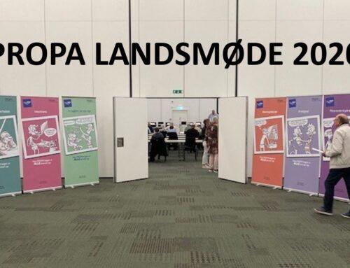 Resultater fra PROPAs Ordinære Landsmøde 2020